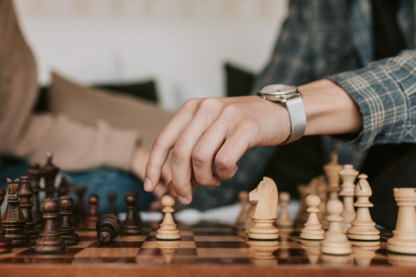 Hand Schach